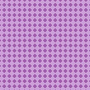 Small Purple Checks
