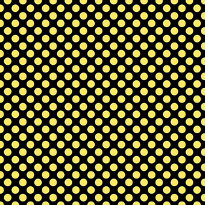 Light Yellow Spots on Black