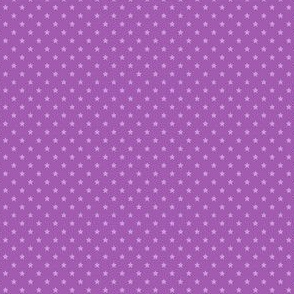 Small Purple Stars on Mid Purple