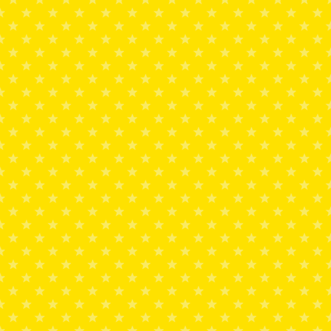 Large Yellow Stars on Dark Yellow fabric by elsielevelsup on Spoonflower - custom fabric