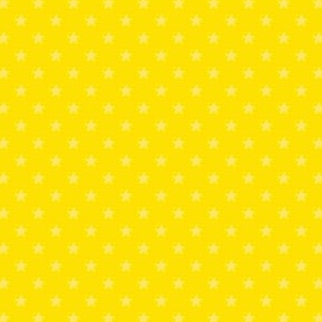 Large Yellow Stars on Dark Yellow