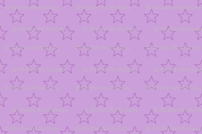Large Purple Stars on Light Purple
