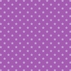 Large Purple Stars on Mid Purple