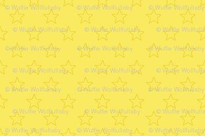 Large Yellow Stars on Light Yellow