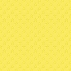 Large Yellow Stars on Light Yellow