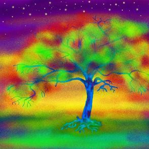 LUMINESCENT TREE MYSTIC FIRE LIGHTS