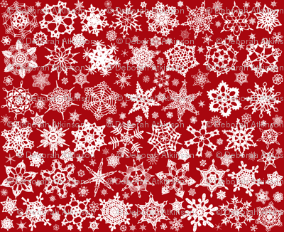 Snowcatcher Crochet Red