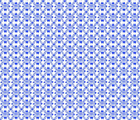 Small Morroccan tile fabric by kimmurton on Spoonflower - custom fabric