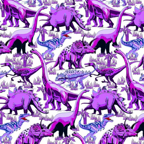 Purple Dinosaurs.