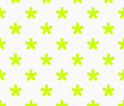 1410_star_neon fabric by fruestig on Spoonflower - custom fabric