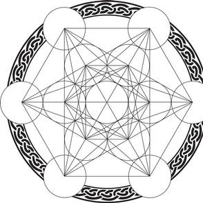 Metatrons_Cube 40x40cms