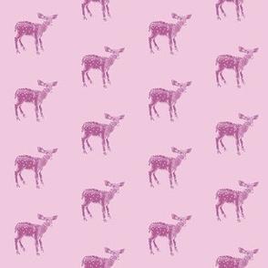 Dear Deer Pink on Pink