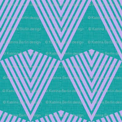 Arrows>>>> Turquoise + Lavender