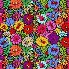 Color floral fiesta small scale
