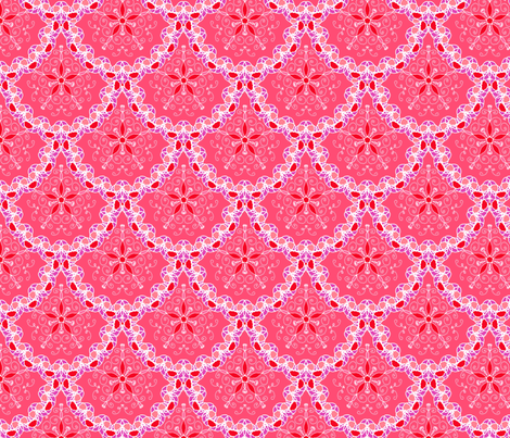 Lace doily scallop fabric by designed_by_debby on Spoonflower - custom fabric