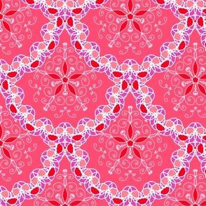 Lace doily scallop