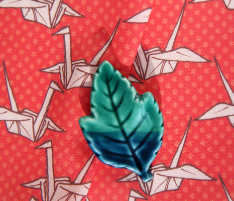 Paper Crane - Red