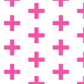 magenta plus cross
