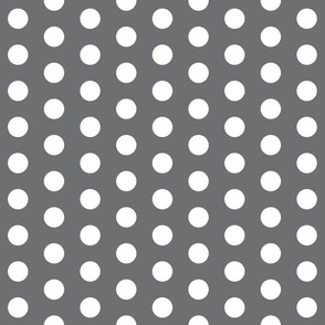 charcoal polka dots