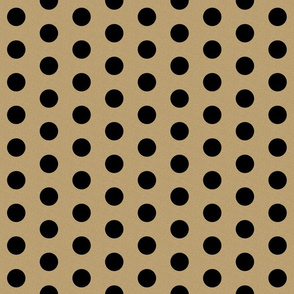gold glitter black polka dots