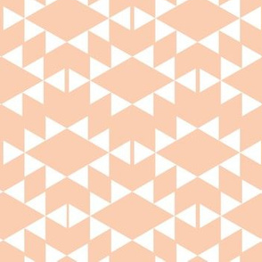blush aztec triangles