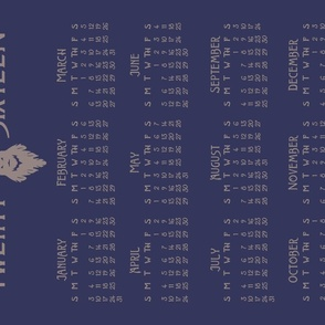 Stag Calendar 2016