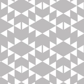 silver aztec triangles