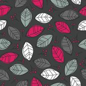 Modern Autumn - Charcoal