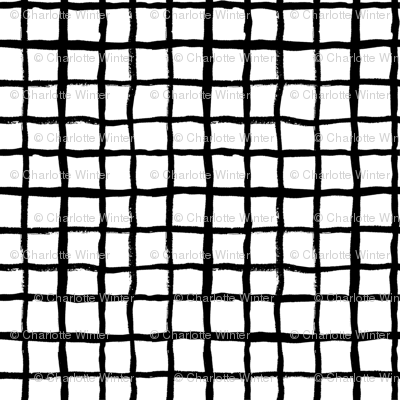 grid (2) simple black and white classic design
