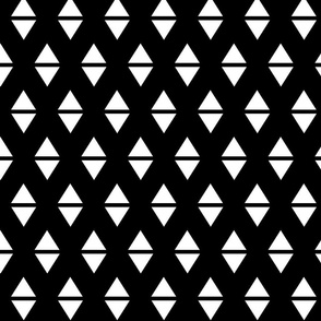 white black triangle