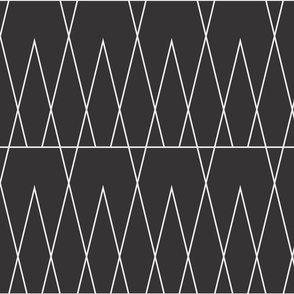 Geometric Conifers by Friztin
