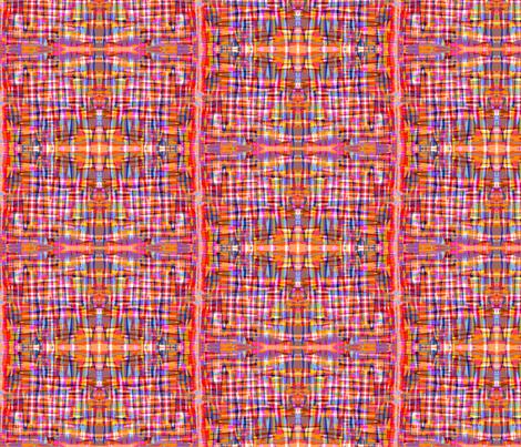 Glitchy Plaid fabric by carlyn_clark on Spoonflower - custom fabric