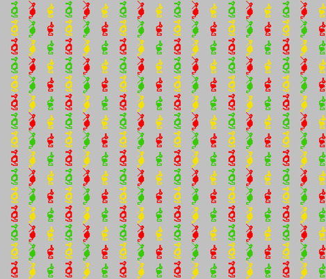 Stick 'em with the pointy end fabric by ilikemeat on Spoonflower - custom fabric
