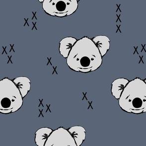 Koala // dark blue