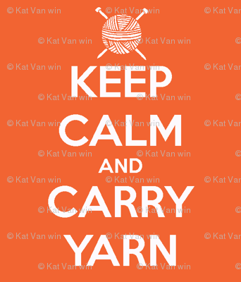 how to carry yarn in knitting