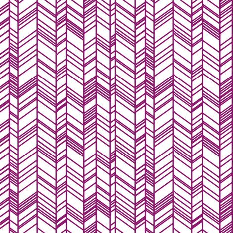 Purple on White fabric by ottdesigns on Spoonflower - custom fabric