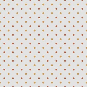 Autumn Polka Dots