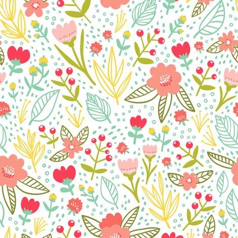 Floral Pattern Wallpaper Stolenpencil Spoonflower