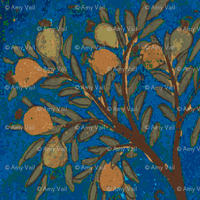 Indian Tree Blue