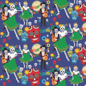 Los Esqueletos Bailan