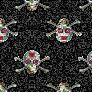 Sugar Skull And Cross Bones