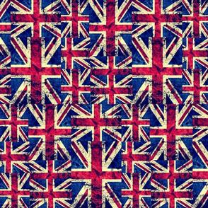 RETRO BRITISH FLAGS LARGE