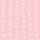 beVy print pink/white