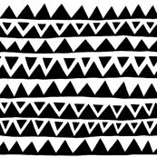 Slopes and Peaks Black/White