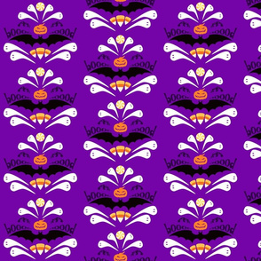 Hallo-Damask Purple