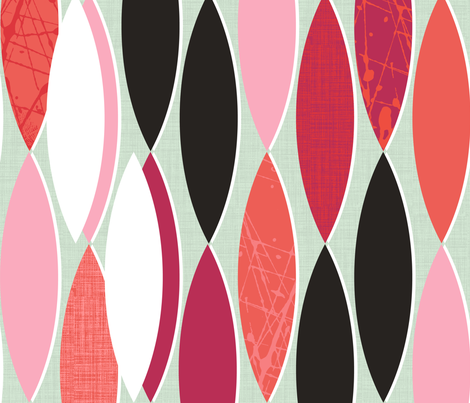 Lipstick Powder & Paint fabric by spellstone on Spoonflower - custom fabric