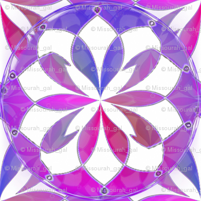 Pinched Fuchsia Inkscape Stars