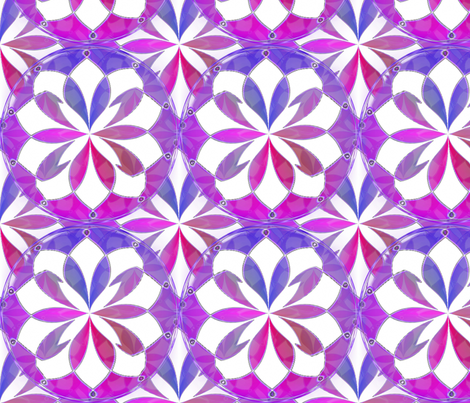Pinched Fuchsia Inkscape Stars fabric by missourah_gal on Spoonflower - custom fabric
