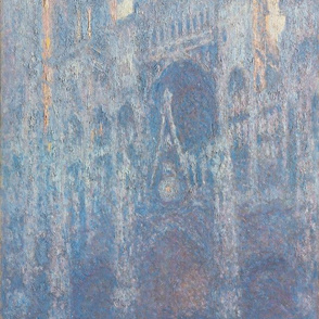 The Portal of Rouen Cathedral in Morning Light - Monet (1894)