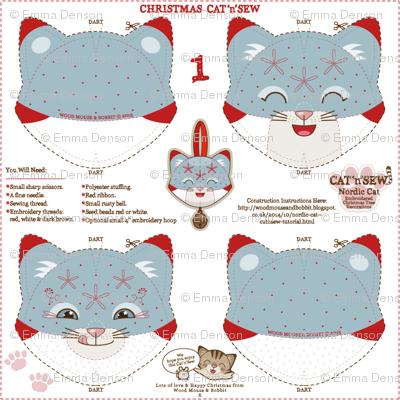 Nordic Cat Decorations 01